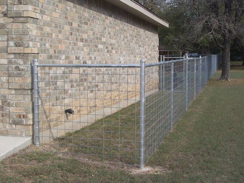 6 X Hog Wire Fence Panels